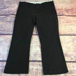 Express Women's Black Capr Stretchi Pants Size 8